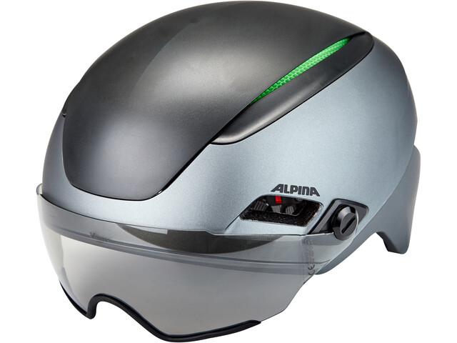 Alpina Altona VM Kask rowerowy, charcoal-anthracite